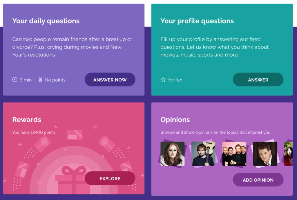 YouGov surveys for fun