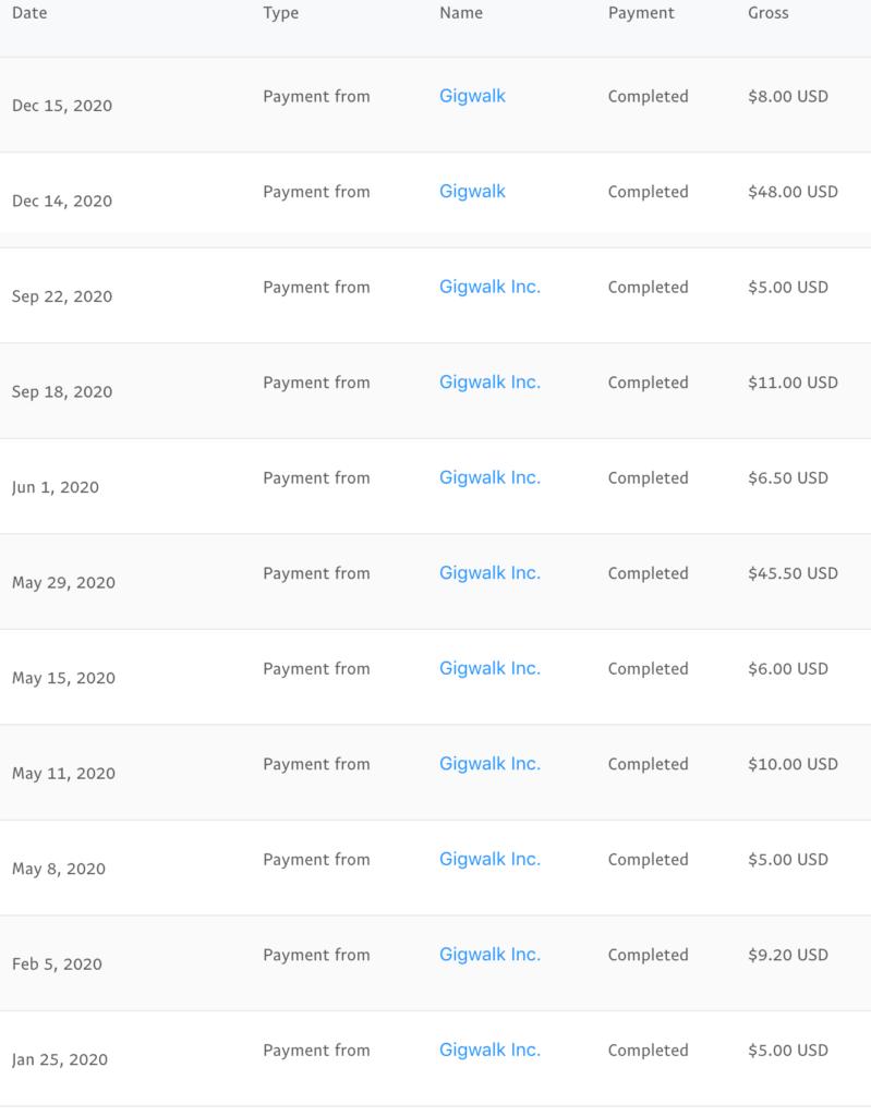 Gigwalk earnings 12-31
