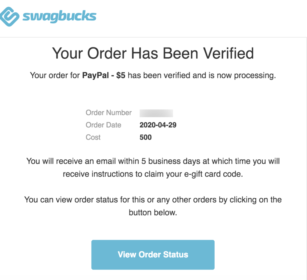 Why is Swagbucks so Popular? - Paypal order verified