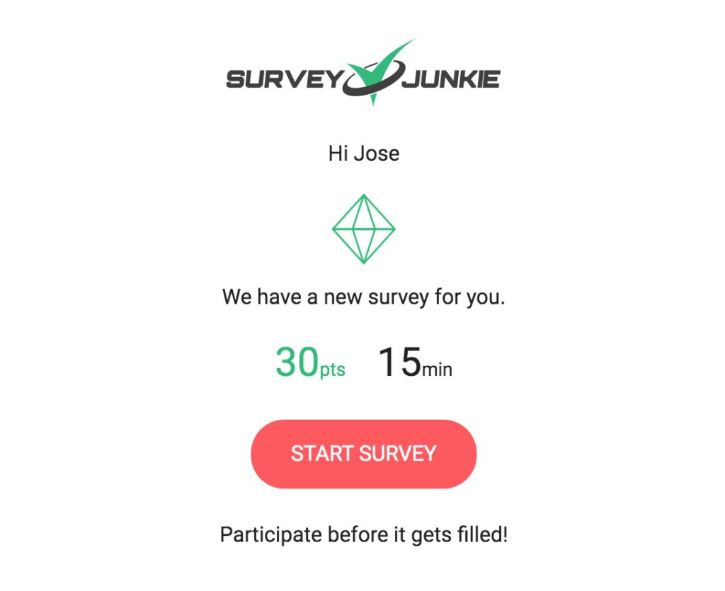 Is Survey Junkie Legit? Survey Email Offer