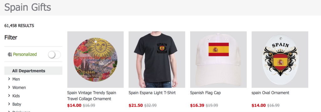 Can you make money with CafePress? - Spain search