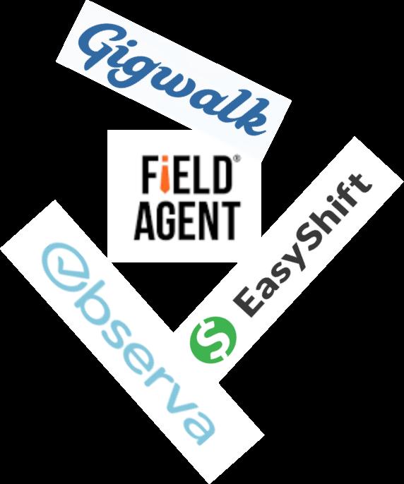 Mistery Shopping Gig Logos