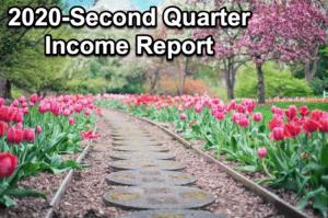 Second quarter income report