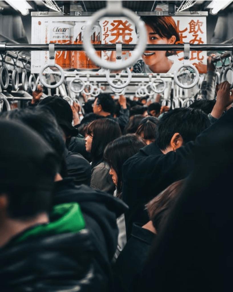 Site #2 Income Report (Home & Garden Niche) - Crowded subway train