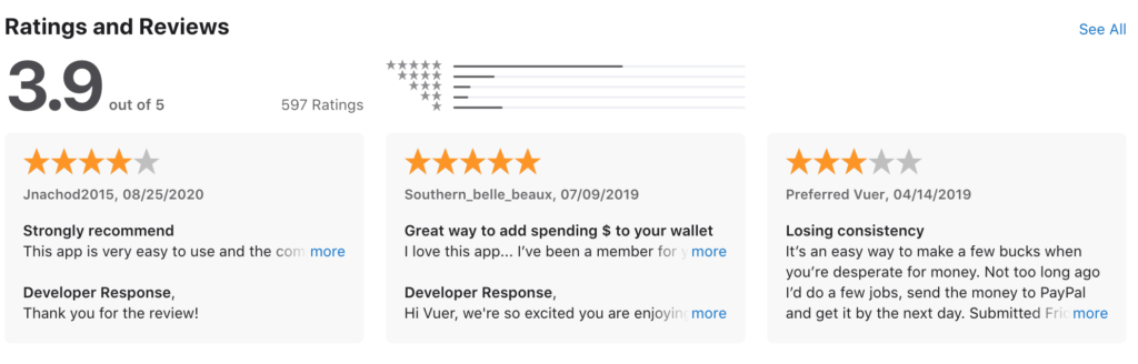 App Store Review for Avueit